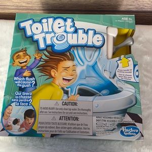 NEW IN BOX Toilet Trouble Game by Hasbro